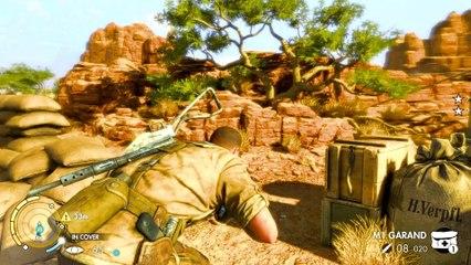 Sniper Elite 3 Co-op Walkthrough Ep.1   Mission #1: Siege of Tobruk [PC HD]