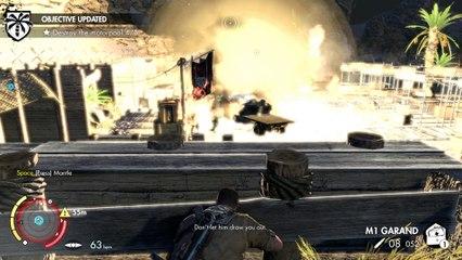 Sniper Elite 3 Co-op Walkthrough Ep.4   Mission #2: Gaberoun (Part 3) [PC HD]