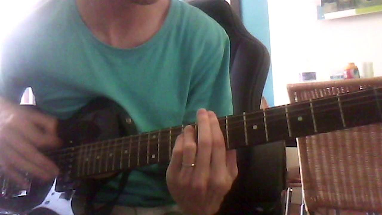 Shakaponk Blacklisted guitar cover chords tabs basic