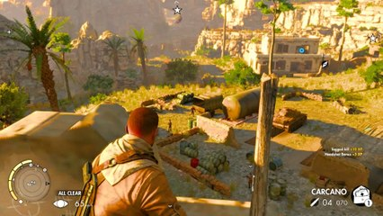 Sniper Elite 3 Co-op Walkthrough Ep.8 | Mission #3: Halfaya Pass (Part 3) [PC HD]