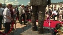 Bosnie: inauguration d'une statue de Gavrilo Princip