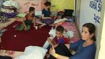Iraqi Christians flee ISIL militants near Mosul