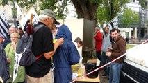 Les manifestants demandent le rattachement de la Loire-Atlantique à la Bretagne