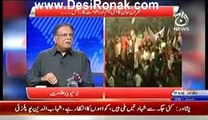 Live with Talat (Exclusive Interview With Senater Pervaz Rasheed) – 28th June 2014