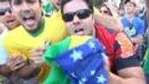 Le suspense de Brésil-Chili : Juninho vibre, Copacabana explose !