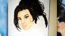 Drawing Amy Winehouse (Dibujo de Amy Winehouse) [Speed Drawing]
