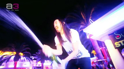 Steve Aoki 'Champagne Killer'