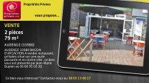 A vendre - bar/restaurant/brasserie - AUDENGE (33980) - 2 pièces - 79m²