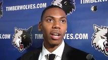 Glenn Robinson III Introduced By Minnesota Timberwolves   2014 NBA Draft