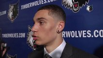 Zach LaVine Introduced By Minnesota Timberwolves   2014 NBA Draft