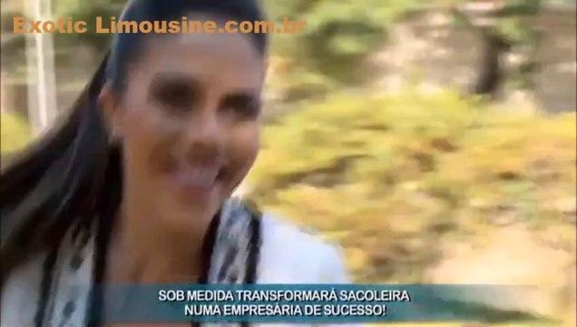 LIMOUSINE EM SÃO PAULO NA  REDETV COM A EXOTIC LIMOUSINE