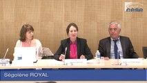 Audition de Mme Ségolène ROYAL, Ministre de l'écologie, du développement durable et de l'énergie - cese