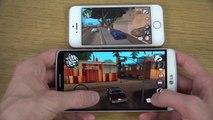 GTA San Andreas LG G3 vs. iPhone 5S HD Gaming Comparison Review