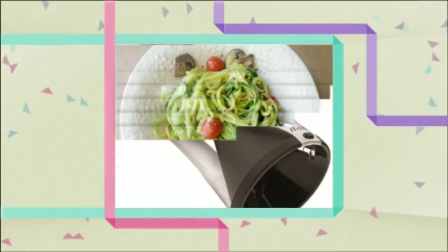 Kycen Spiralizer, Perfect Zucchini Pasta Maker