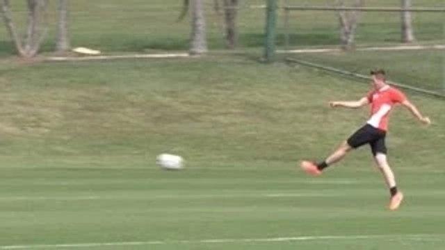 World Cup 2014 - Adnan Januzaj Scores ANOTHER Stunning Volley In Belgium Training