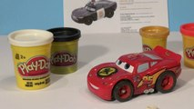 Play Doh Pixar Cars Police Officer Lightning McQueen from Play Doh Disney Cars2