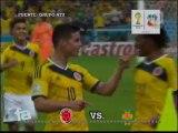 Resumen Octavos de Final - Colombia 2-0 Uruguay