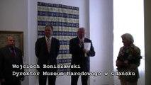 """""""Tureckie śluby Mariana Mokwy"""" - wernisaż wystawy w Pałacu Opatów w Oliwie / StaraOliwa.pl"""