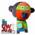 Discount Ze Super Zeros Zonk The Monkey Plush toys Review