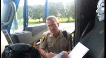 Trucker Pulls Over Cop For Speeding