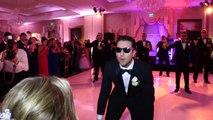 Futur marié fait une danse à sa femme à son mariage : choré de dingue et gros talent!