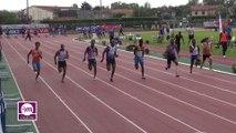 Finale M 100 m Espoirs