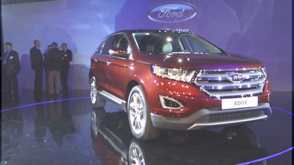 vid o le ford edge 2015 en vid o l 39 argus l 39 argus. Black Bedroom Furniture Sets. Home Design Ideas