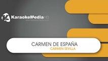 Carmen de España - Carmen Sevilla - KARAOKE HQ