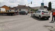 Beauvais ; accident spectaculaire