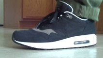 Cheap Nike Air Max Shoes free shipping,Nike Air Max 1 Black Smoke On feet