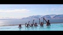 Ski sur les sommets d'Islande