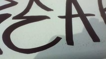 Graffiti tag
