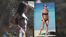 Kate Moss and Naomi Campbell hit the Beach in Ibiza