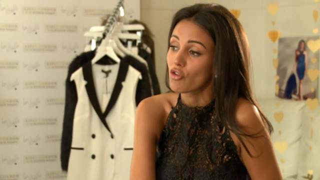 Michelle Keegan's top tips for getting ready in a rush