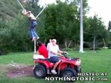 Catapulte humaine
