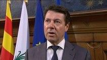 """Coupe du monde : Estrosi interdit """"utilisation ostentatoire de tous les drapeaux étrangers"""" à Nice"""