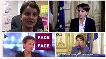 Najat Vallaud-Belkacem, ministre des Bleus