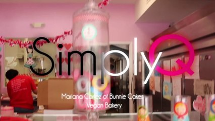 Marina Cortez of Bunnie Cakes  Vegan Bakery