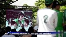 Hommage à Escobar, 20 ans après l'assassinat du joueur colombien