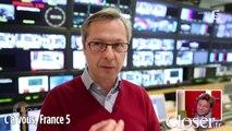 C à vous : Laurent Delahousse pense être le présentateur le moins bien coiffé de la télé