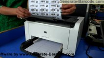 Design and print barcode labels using DRPU barcode label software.