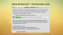 Apple iOS 7.1.1 jailbreak Untethered (Evasion 1.0.8 ios 7.1.1 Jailbreak) - iPhone, iPad & iPod Touch
