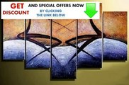 Best Deals Canvas Art African Figure Painting 100% Hand Painted Oil Painting 5 Piece Wall Art Group Painting Abstract Art Free Shippi... Review