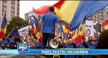 """Basarabia și România, aceeași țară. Marș pentru Basarabia. """"Chișinău și București - două inimi Românești"""""""