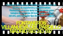 Fontaneros Villanueva del Pardillo BARATOS Madrid. TLF. 693-243-597