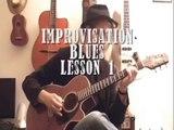 Improviser sur blues acoustique - Tutoriel guitare