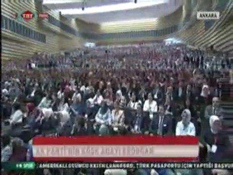 Ak Partinin Cumhurbaşkanı Adayı Başbakan Erdoğan, ATO Kongre Merkezinde Cumhurbaşkanlığı Seçiminin Önemine Değindi