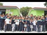 Entrega de Canchas Deportivas en San Juan de Llanos y el Fuerte, San Felipe Gto.