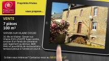 A vendre - bar/restaurant/brasserie - SERVON SUR VILAINE (35530) - 7 pièces - 100m²