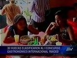 Guayaquil resalta las tradicionales 'huecas' por sus fiestas de fundación